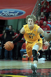 22 January 2014:  Ron Baker during an NCAA Missouri Valley Conference mens basketball game between the Shockers of Wichita Stat and the Illinois State Redbirds  in Redbird Arena, Normal IL.
