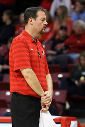 08 November 2015: Athletic Trainer John Munn. Illinois State Redbirds host the Southern Indiana Screaming Eagles and beat them 88-81 in an exhibition game at Redbird Arena in Normal Illinois (Photo by Alan Look)