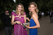 SARAH BRAJOVIC, LAUREN REMINGTON, The Serpentine Party pcelebrating the 2019 Serpentine Pavilion created by Junya Ishigami, Presented by the Serpentine Gallery and Chanel,  25 June 2019