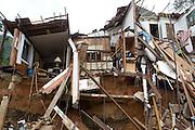 TERESOPOLIS, RJ, BRA. Janeiro de 2011...Bairros da cidade de Teresopolis, zona Serrana do Estado do Rio de Janeiro são completamente devastados pelas enchente decorrentes as fortes chuvas do incio de janeiro de 2011...Foto: RODRIGO LIMA