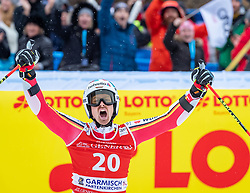 02.02.2020, Kandahar, Garmisch, GER, FIS Weltcup Ski Alpin, Riesenslalom, Herren, 2. Lauf, im Bild Stefan Luitz (GER) // Stefan Luitz of Germany reacts after his 2nd run of men's Giant Slalom of FIS ski alpine world cup at the Kandahar in Garmisch, Germany on 2020/02/02. EXPA Pictures © 2020, PhotoCredit: EXPA/ Johann Groder