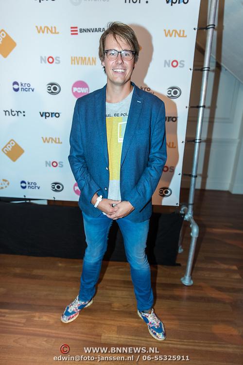 NLD/Hilversum//20170828 - NPO Seizoensopening 2017/2018, Henk van Steeg