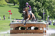 Ginny Howe on Undalgo De Windsor during the International Horse Trials at Chatsworth, Bakewell, United Kingdom on 13 May 2018. Picture by George Franks.