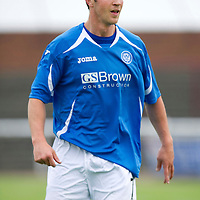 St Johnstone FC....Season 2011-12<br /> Chris Millar<br /> Picture by Graeme Hart.<br /> Copyright Perthshire Picture Agency<br /> Tel: 01738 623350  Mobile: 07990 594431