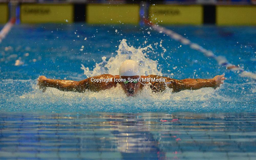 Frederick BOUSQUET  - 50m Papillon   -  16.01.2015 - Meeting de Courbevoie 2015<br />Photo : Dave Winter / Icon Sport