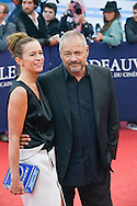 Jean-Pierre Jeunet and wife Liza Sullivan attend the 'Life' Premiere during the 41st Deauville American Film Festival on September 5, 2015 in Deauville, France