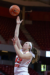 29 January 2017: Megan Talbot during an College Missouri Valley Conference Women's Basketball game between Illinois State University Redbirds the Salukis of Southern Illinois at Redbird Arena in Normal Illinois.