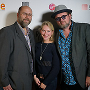 London, England, UK. 25th September 2017. R Paul Wilson is a Director, Yori Swart a Singer,Reyn Ouwehand a Composer of Isolani movie attend Raindance Film Festival Screening at Vue Leicester Square, London, UK