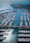 Dana Point, CA, Harbor Marina, Embarcadero Marina, Aerial View