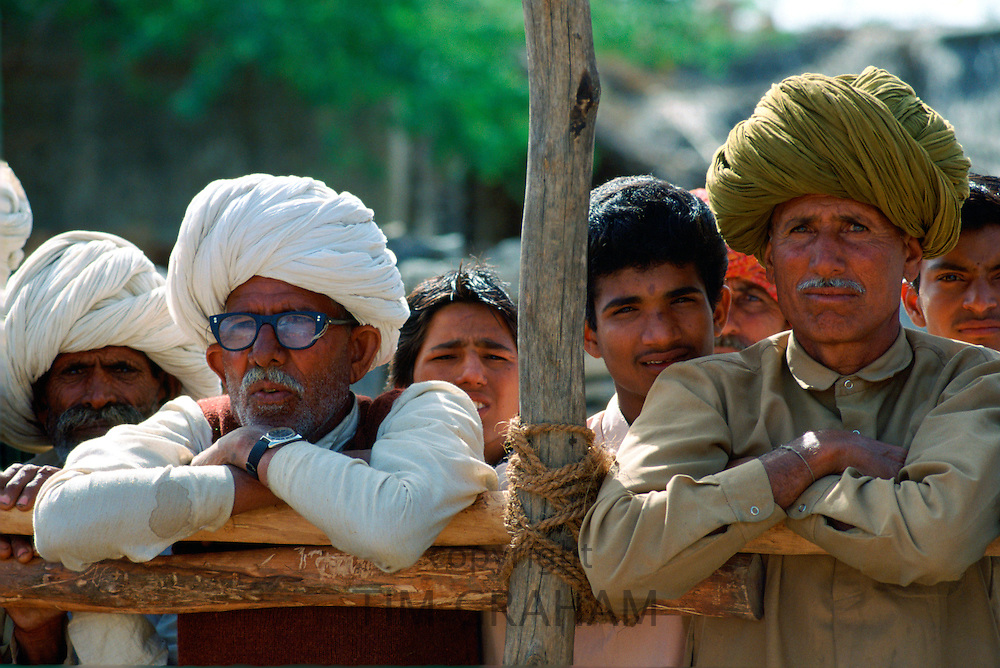 Villagers in Nalu Village, Rajasthan, India