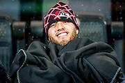 DEVENTER - 13-01-2017, Go Ahead Eagles - AZ,  Stadion Adelaarshorst, 1-3, het is koud, AZ speler Iliass Bel Hassani