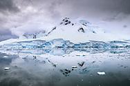 Snowy Mountains of antarctica