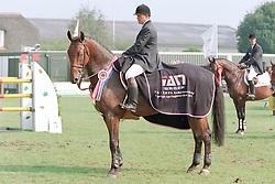 Van der Schans Wout Jan-Mylord<br />KWPN Paardendagen  Ermelo 2001<br />Photo © Dirk Caremans