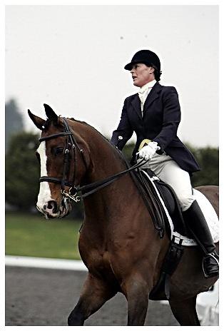 Affiliated British Dressage at Sheepgate Equestrian Centre.Saturday 11-4-2009