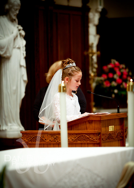 Image from St Ann Parish - Dorchester MA - First Communion Celebration - May 5, 2012