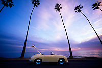 Porsche Speedster, Montecito, California USA