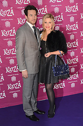 Alex Partakis and Heidi Range attend  Cirque Du Soleil Kooza Press Night  at The Royal Albert Hall, Kensington Gore, London on Tuesday 6 January 2015