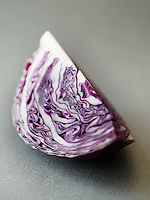 Slice of Red Cabbage