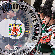 Derwent Scottish Pipe Band, ANZAC Day 2013, Hobart, Tasmania, Australia