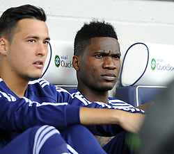 West Bromwich Albion's New Signing Brown Ideye starts on the bench- Photo mandatory by-line: Joe Meredith/JMP - Mobile: 07966 386802 16/08/2014 - SPORT - FOOTBALL - West Bromwich - The Hawthorns - West Bromwich Albion v Sunderland - Barclays Premier League