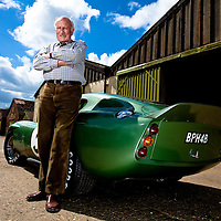 Classic&Sports Car Feature.Jack Sears&60's AC Le Mans Race Car.12th May 2011.Images Copyright Malcolm Griffiths.Contact:07768 230706.EMAIL:info@mgphoto.uk.com.http://www.mgphoto.uk.com