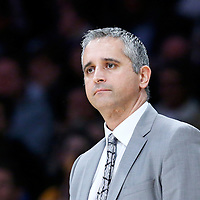 05 December 2016: Utah Jazz Assistant Coach Igor Kokoskov is seen during the Utah Jazz 107-101 victory over the Los Angeles Lakers, at the Staples Center, Los Angeles, California, USA.
