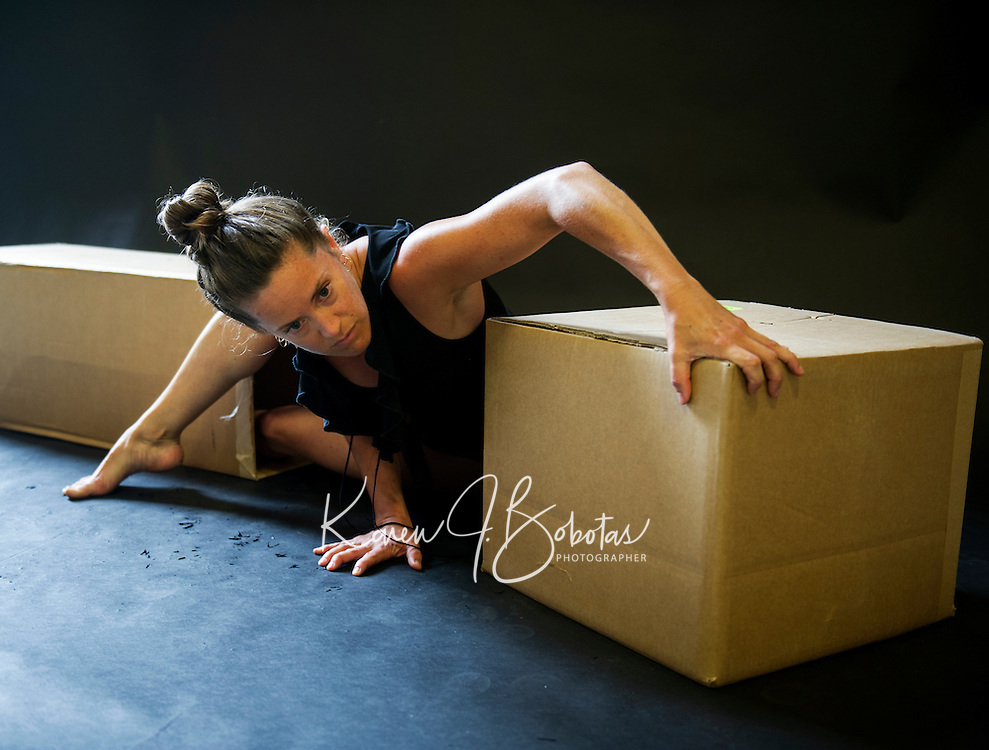Ariel dance session with Elizabeth Opalenik Rockport, Maine.  ©2015 Karen Bobotas Photographer