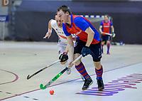 ROTTERDAM  - NK Zaalhockey . finale heren: SCHC-Amsterdam (2-2, SCHC wint shoot-outs) . SCHC speler Max Sweering (SCHC)   COPYRIGHT KOEN SUYK