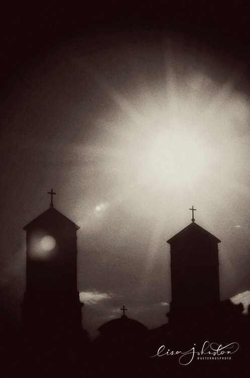 Lisa Johnston | lisa@aeternus.com Belltowers of the Shrine of St. Joseph in St. Louis.