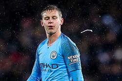 Oleksandr Zinchenko of Manchester City - Mandatory by-line: Robbie Stephenson/JMP - 18/12/2018 - FOOTBALL - King Power Stadium - Leicester, England - Leicester City v Manchester City - Carabao Cup Quarter Finals