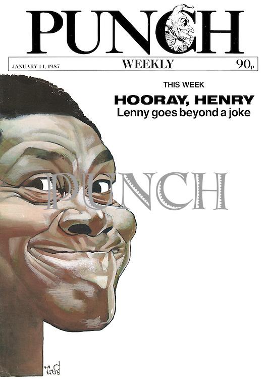 Passing Through (Lenny Henry)