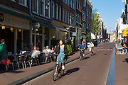 Cafe De Doffer traditional brown café located in The Nine Streets, De 9 Straatjes, district of  Amsterdam, Holland