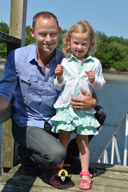 GEORGETOWN, Maine -- 6/30/14 -- Zike Family  portrait. DSC_2321<br /> Photo  &copy;2014 by Roger S. Duncan <br /> Released for all purposes to Zike Family