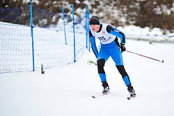 VOVCHYSKYI Grygorii, UKR at the 2014 IPC Nordic Skiing World Cup Finals - Long Distance