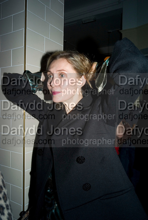 ALLEGRA HICKS, Happiness- Private view of work by Barry Reigate. Paradise Row, London and afterwards at Mark hix's new restaurant. ix Oyster and Chop House, 37-37 Greenhill Rents, Cowcross St, EC1. 14 March 2008. <br />