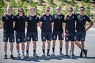 Team Australia at the 2018 UCI BMX World Championships in Baku, Azerbaijan.