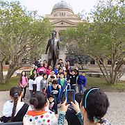 Shadowbriar students tour Texas A&M University.
