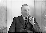 29/05/1964<br /> 05/29/1964<br /> 29 May 1964<br /> Mr. Michael Hilliard, Minister for Posts and Telegraphs. Fianna Fail T.D. for Meath.