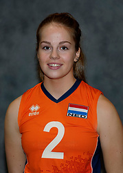 24-12-2019 NED: Photoshoot selection of Orange Youth Girls, Arnhem<br /> Orange Youth Girls 2019 - 2020 / Sanne Konijnenberg #2