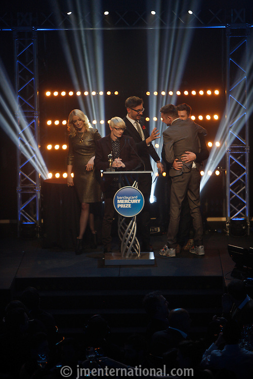 Barclaycard Mercury Prize Albums of the Year 2012.Thursday, Nov 1, 2012 (Photo/John Marshall JME)