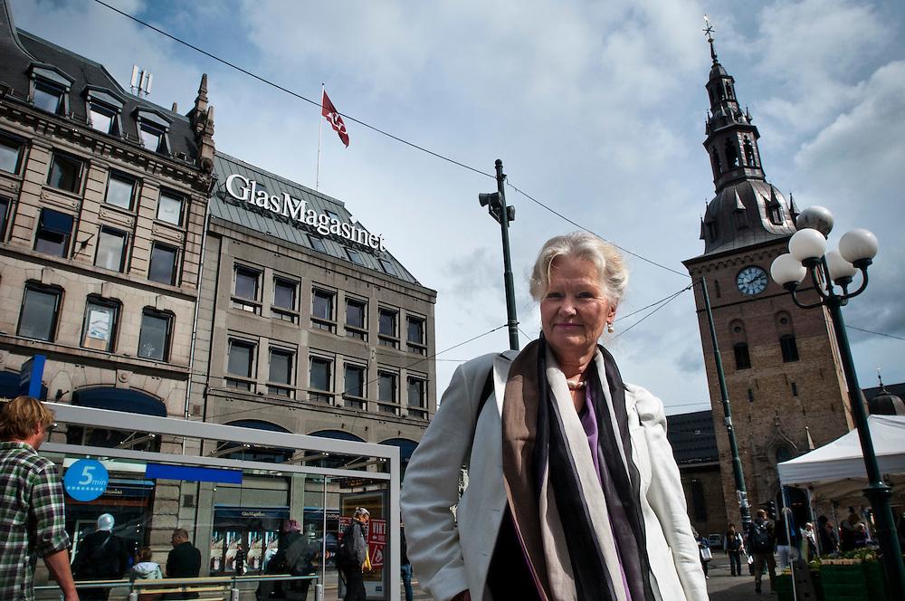 Person 4.Enkät i Oslo angående morgondagens dom i Breivik-rättegången