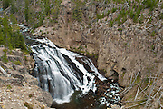 Norris Falls at Yellowstone National Park, WY, on Sept. 6, 2012.  (Photo by Aaron Schmidt © 2012)