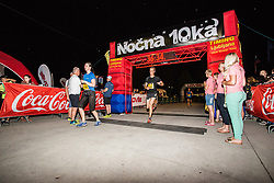 Nocna 10ka 2019, traditional run around Bled's lake, on June 29, 2019 in Bled, Slovenia. Photo by Peter Podobnik / Sportida