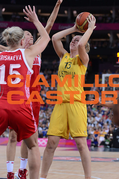 DESCRIZIONE : London Londra Olympic Games Olimpiadi 2012 Women Final bronze medal game Australia Russia<br /> GIOCATORE : Rachel JARRY <br /> CATEGORIA : <br /> SQUADRA : Australia<br /> EVENTO : Olympic Games Olimpiadi 2012<br /> GARA : Australia Russia<br /> DATA : 11/08/2012<br /> SPORT : Pallacanestro <br /> AUTORE : Agenzia Ciamillo-Castoria/M.Marchi<br /> Galleria : London Londra Olympic Games Olimpiadi 2012 <br /> Fotonotizia : London Londra Olympic Games Olimpiadi 2012 Women Final bronze medal game Australia Russia<br /> Predefinita :
