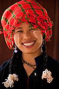 Palaung woman, Amara Resort in Kalaw, Burma