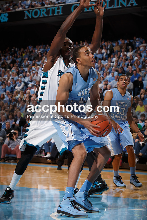 CHAPEL HILL, NC - DECEMBER 31: Brice Johnson #11 of the North Carolina Tar Heels plays the UNC Wilmington Seahawks on December 31, 2013 at the Dean E. Smith Center in Chapel Hill, North Carolina. North Carolina defeated UNC Wilmington 84-51. (Photo by Peyton Williams/UNC/Getty Images) *** Local Caption *** Brice Johnson