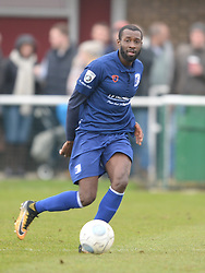 BEDSENTE GOMIS BARROW AFC Brackley Town FC v Barrow AFC, Buildbase FA Trophy Saturday 13th January 2018, SCORE 0-0, Photo:Mike Capps/Kappa Sport Pictures