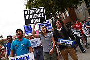 Protesters demonstrate in the March For Our Lives against gun violence, University of Arizona, March 24, 2018, Tucson, Arizona, USA.