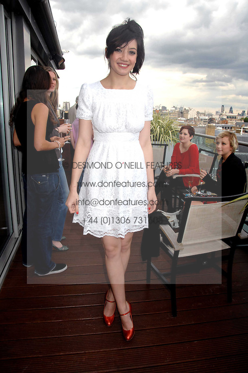 DAISY LOWE at a party to celebrate the publication of 'All That Glitters' by Pearl Lowe held at the May Fair Hotel, London on 8th July 2007.<br /><br />NON EXCLUSIVE - WORLD RIGHTS