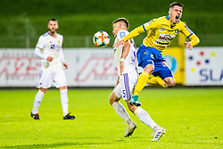 Blaz Vrhovec of NK Maribor and Jan Andrejasic of NK Celje during Football match between NK Celje and NK Maribor in 33th Round of Prva liga Telekom Slovenije 2018/19, on May 15th, 2019, in Stadium Celje, Slovenia. Photo by Grega Valancic / Sportida